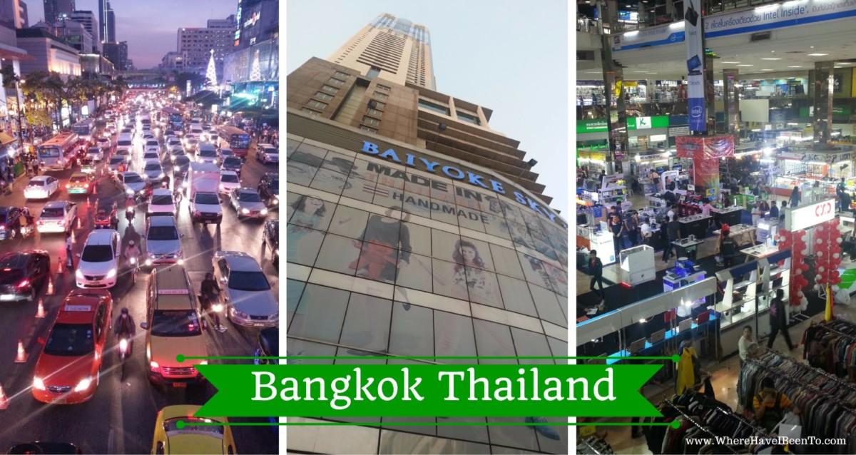 Bangkok Thailand, The Capitol of Thailand