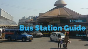 Chiang Mai Bus Station Guide Terminal 1 Old Bus Station