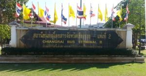 Chiang Rai Bus Station Guide Terminal 2 New Bus Station