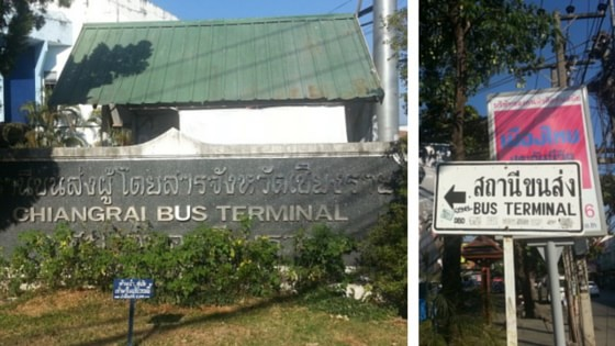 Terminal 1 Bus Station Chiang Rai