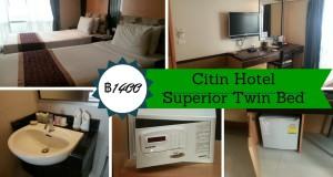 Citin Hotel Review Pratunam Bangkok Thailand