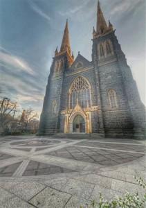 St Patricks Cathedral Melbourne Australia