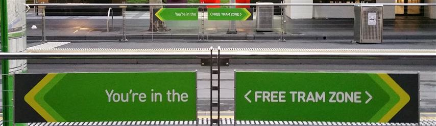 Melbournes Free Tram Travel Around the CDB for FREE