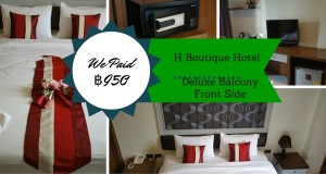 H Boutique Hotel Review Pattaya