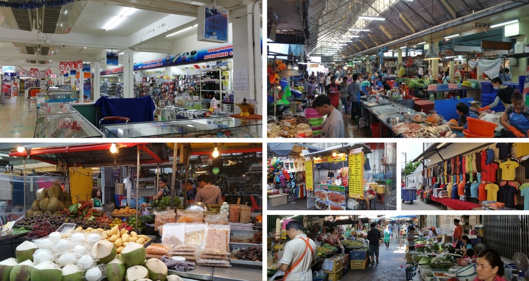 Night Markets Malls and Walking STreet Markets in Hua Hin Thailand