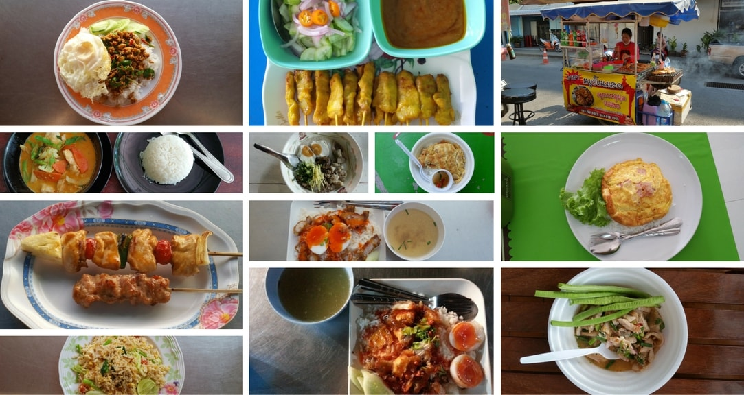 Restaurant Meals and Street Food in Hua Hin Thailand