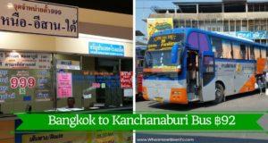 Bangkok to Kanchanaburi Bus