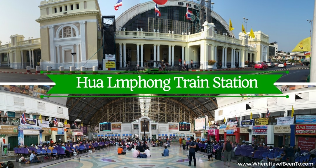 Hua Lamphon train Station Bangkok Thailand