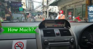 Taxi Rides Around Thailand How Much Does It Cost?