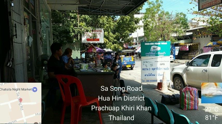 Hua Hin to Cha Am via Minivan