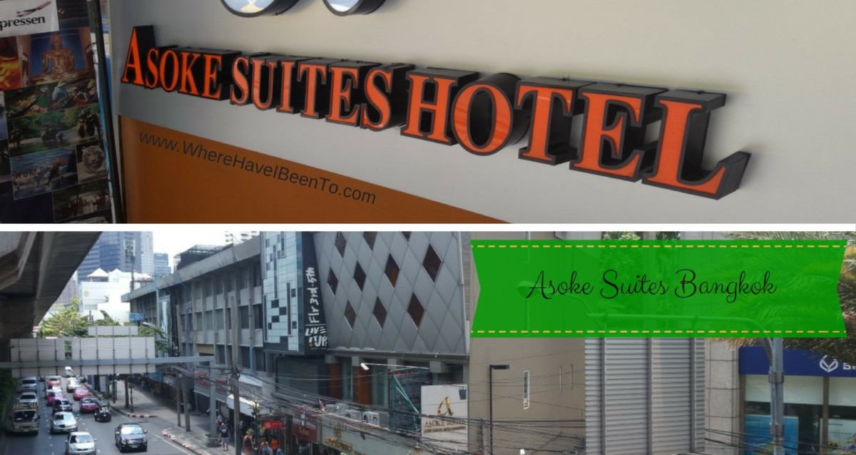 Asoke Suites Asoke Bangkok Hotel Front