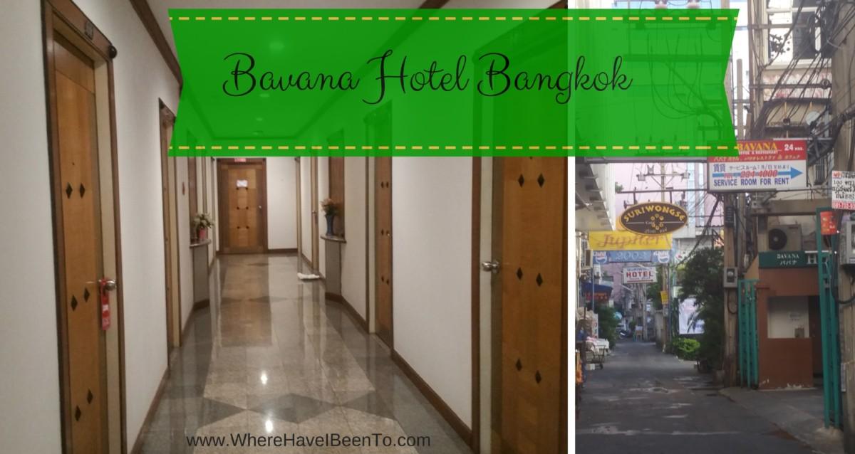 Bavana Hotel Silom Bangkok Hotel Front