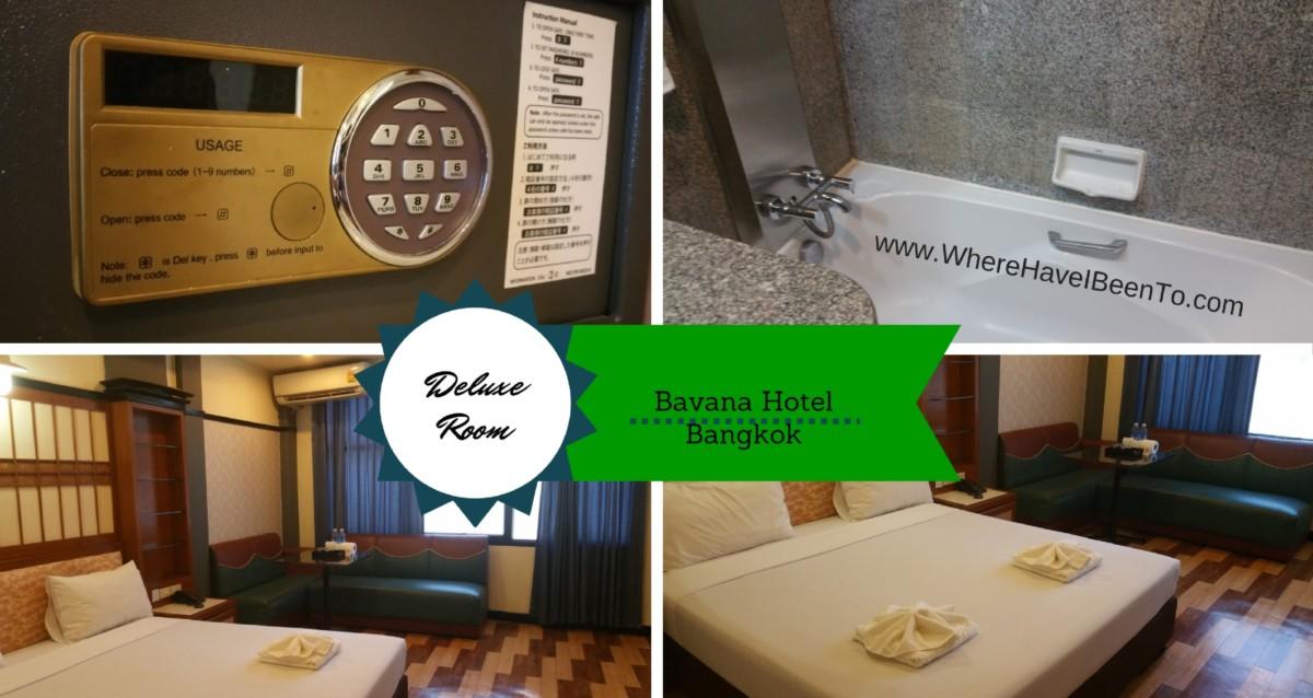 Bavana Hotel Silom Bangkok Inside Room