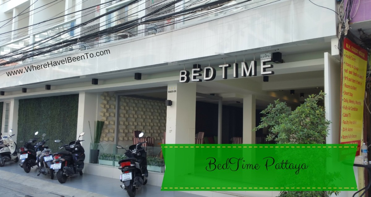 BedTime Pattaya Hotel Front
