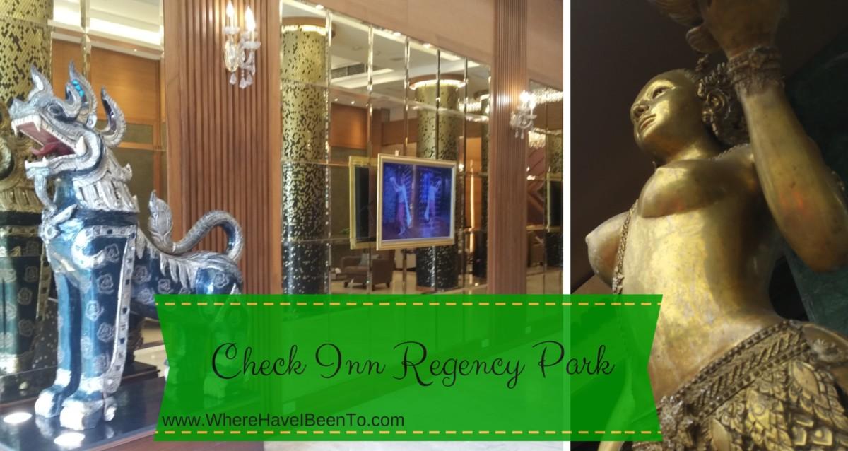 Check Inn Regency Park Bangkok Hotel Front