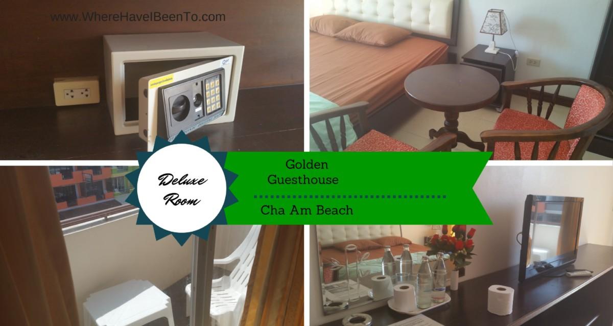 Golden Guesthouse Inside Room Cha Am Beach