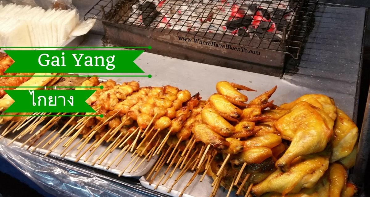Gai Yang Thai Street Food Marinated Grilled Chicken