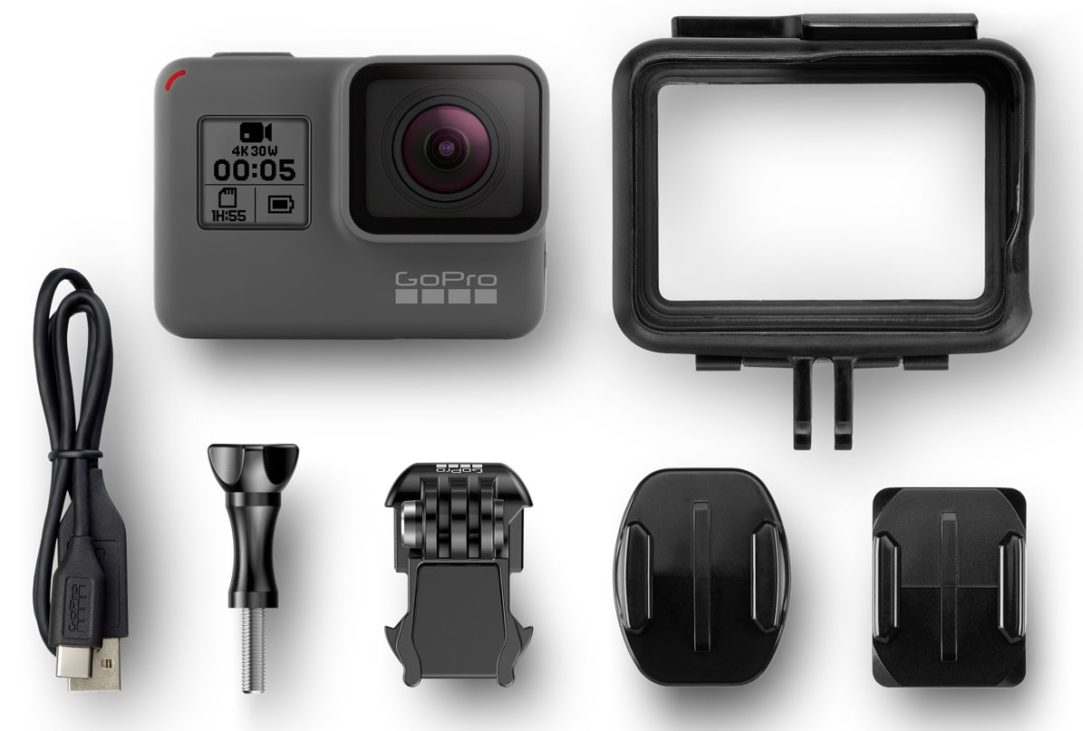 GoPro Hero 5 Black In The Box