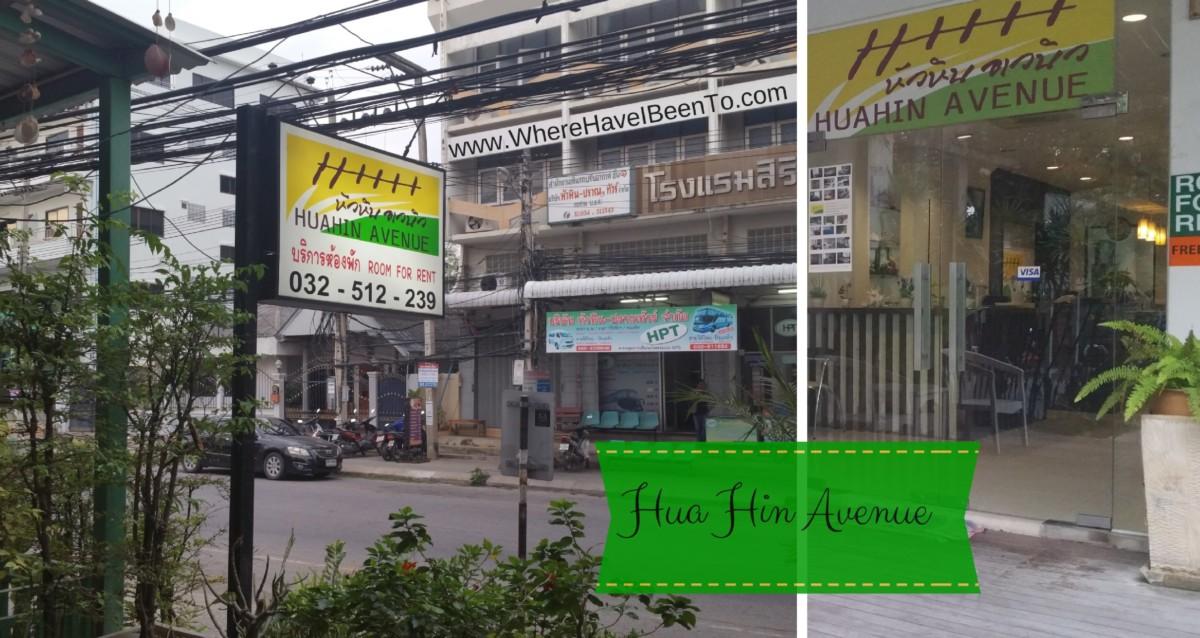 Hua Hin Avenue Hotel Hua Hin Thailand Hotel Front