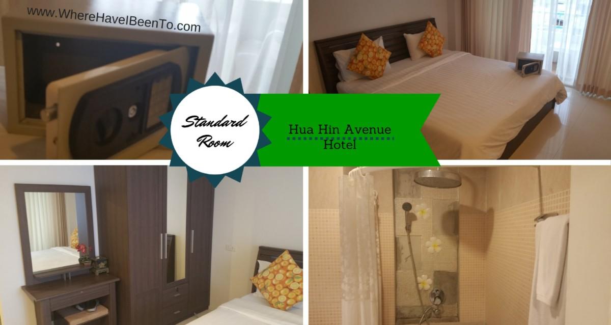 Hua Hin Avenue Hotel Hua Hin Thailand Inside Room