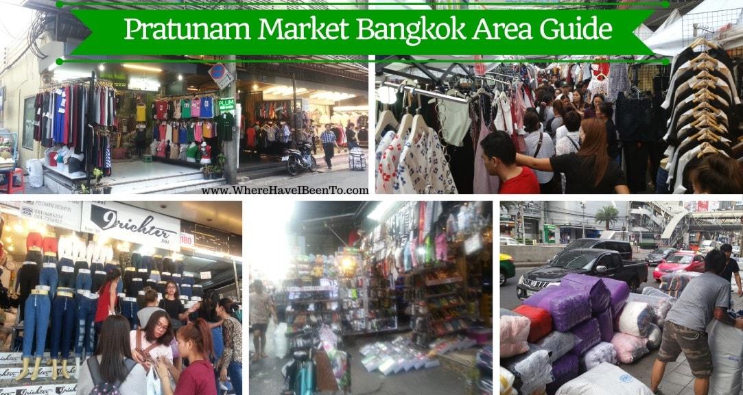 Pratunam Market Bangkok Area Guide