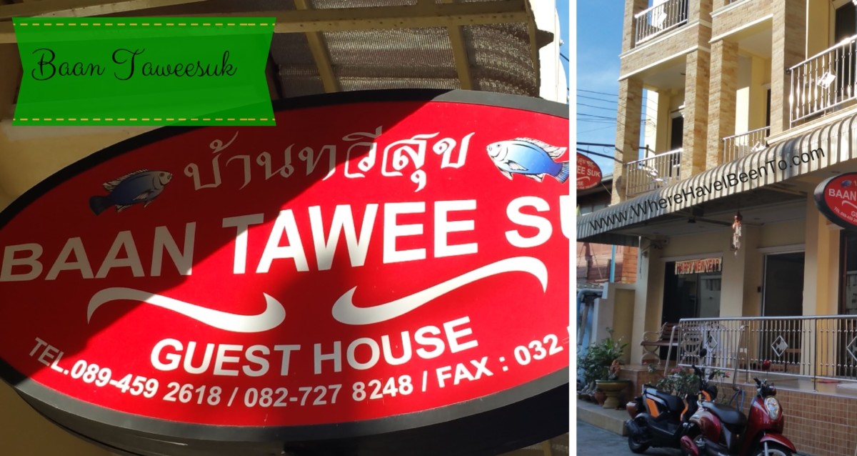 Baan Taweesuk Guest House Hua Hin Thailand Hotel Front