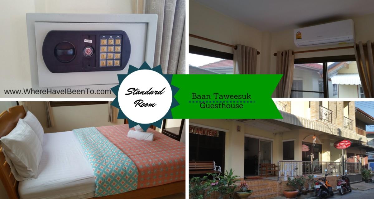 Baan Taweesuk Guest House Hua Hin Thailand Inside Room