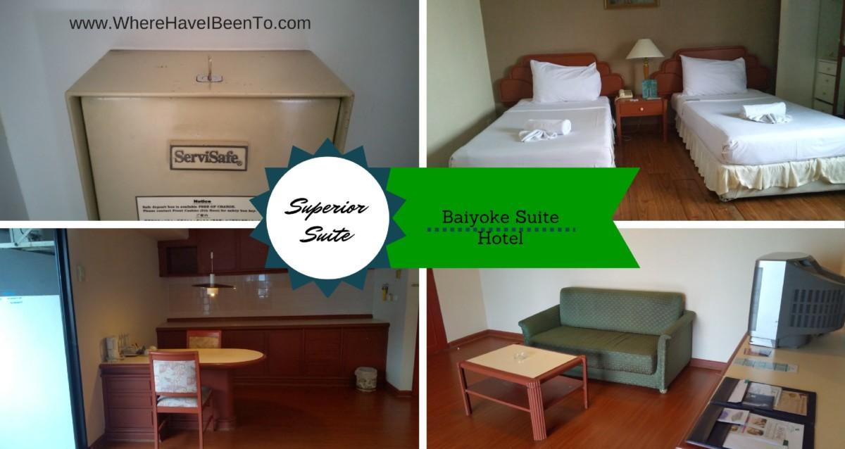 Baiyoke Suite Hotel Bangkok Thailand Inside Room