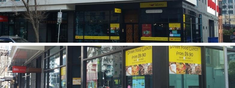 Wokks 607 Swanston Street Thai Restuarant