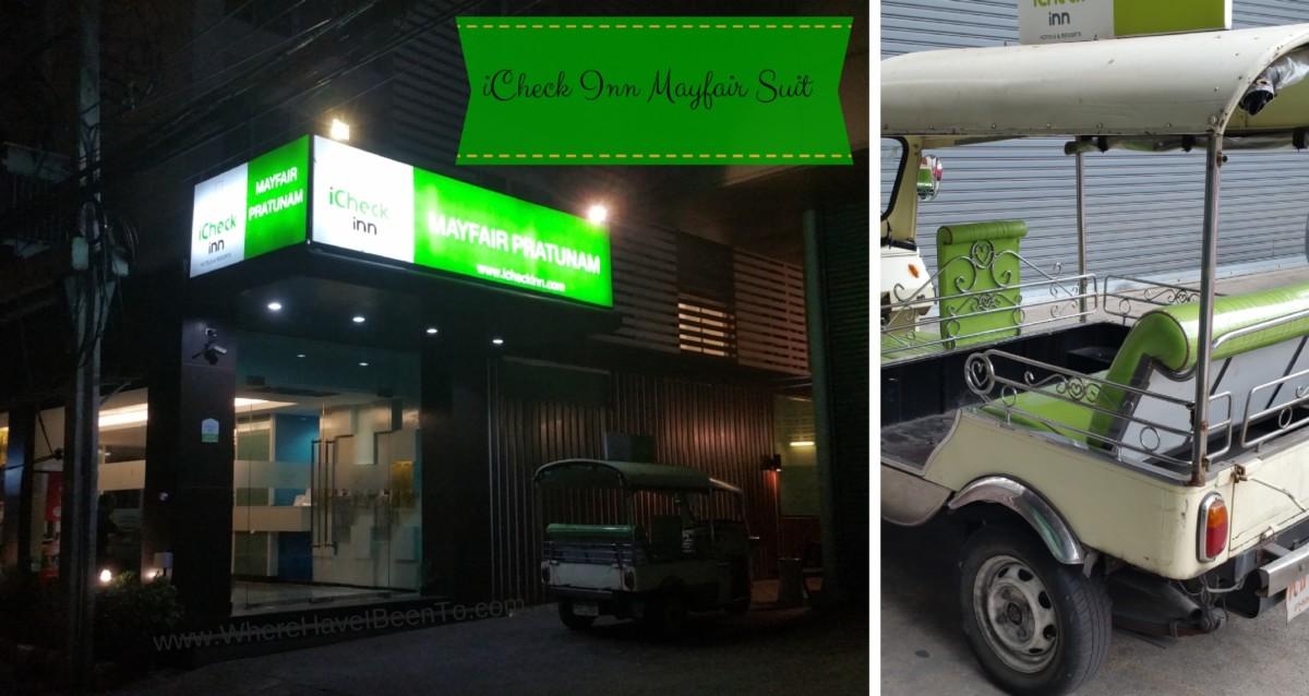iCheck Inn Hotel Mayfair Pratunam Bangkok Thailand Hotel Front