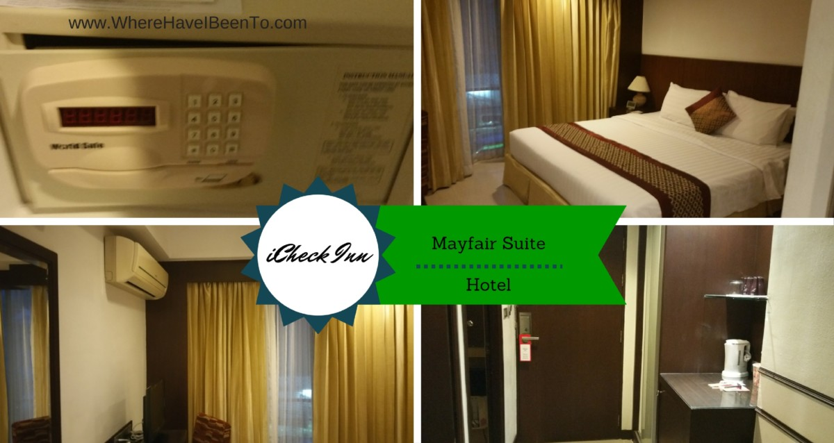iCheck Inn Hotel Mayfair Pratunam Bangkok Thailand Inside Room
